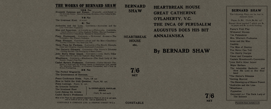 Heartbreak House and Others. George Bernard Shaw