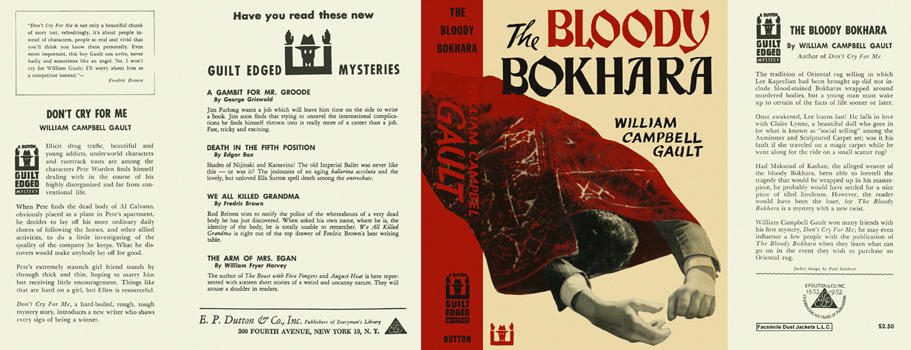 Bloody Bokhara, The. William Campbell Gault.
