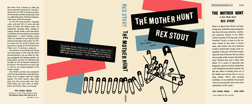 Mother Hunt, The. Rex Stout