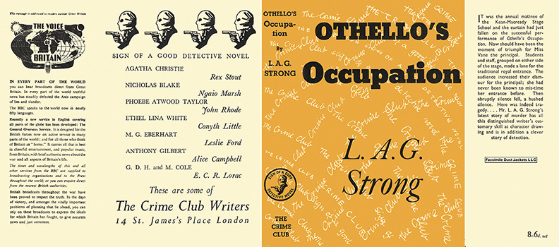 Othello's Occupation. L. A. G. Strong.