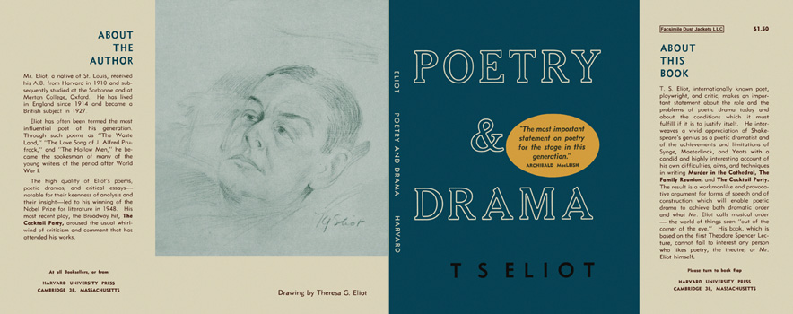 Poetry and Drama. T. S. Eliot
