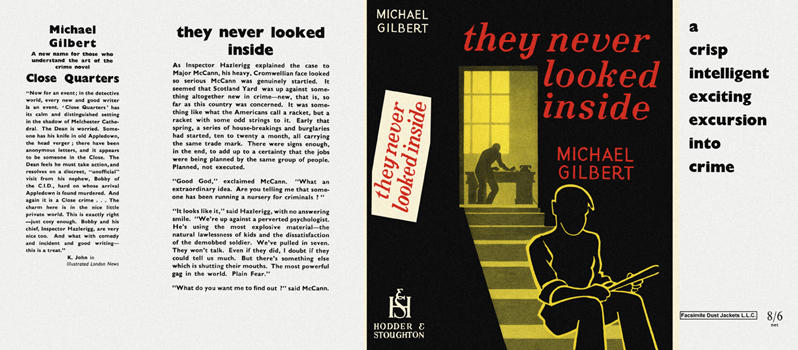 They Never Looked Inside. Michael Gilbert