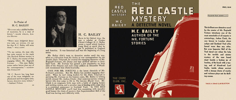 Red Castle Mystery, The. H. C. Bailey
