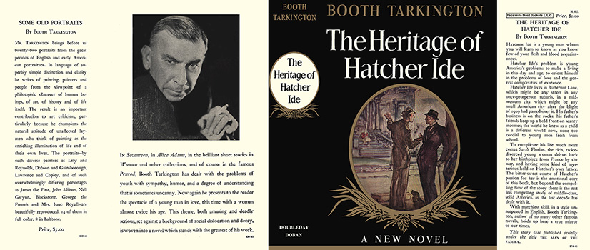 Heritage of Hatcher Ide, The. Booth Tarkington.