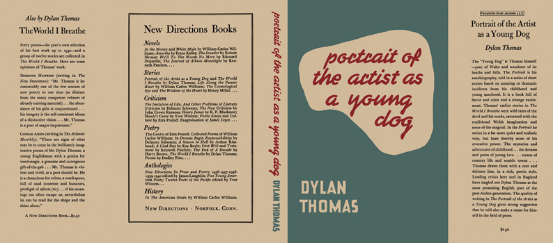 Portrait of the Artist As a Young Dog. Dylan Thomas