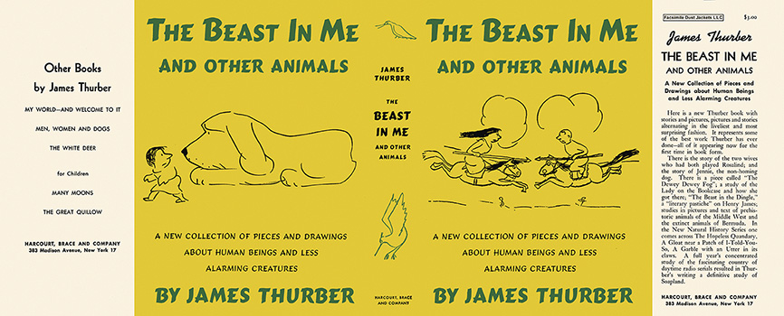 Beast in Me and Other Animals, The. James Thurber.