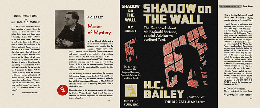 Shadow on the Wall. H. C. Bailey