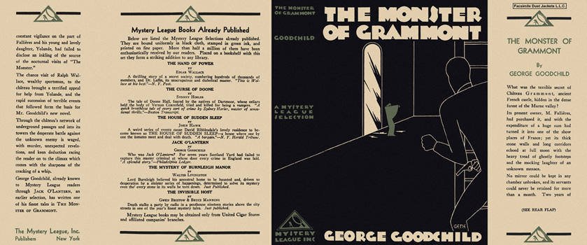 Monster of Grammont, The. George Goodchild.