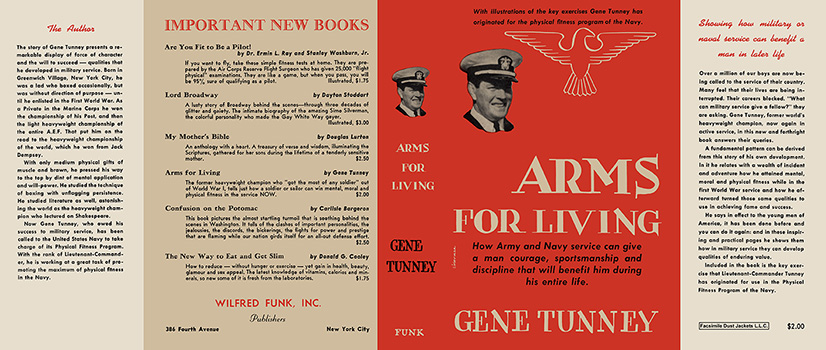Arms for Living. Gene Tunney.