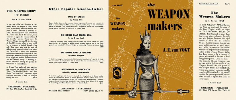 Weapon Makers, The. A. E. Van Vogt.