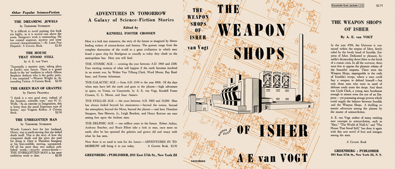 Weapon Shops of Isher, The. A. E. Van Vogt