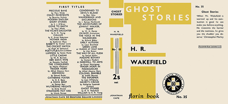 Ghost Stories. H. R. Wakefield.