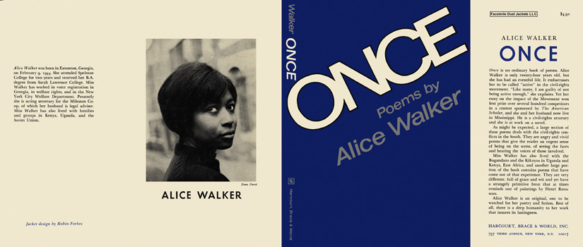 Once, Poems by Alice Walker. Alice Walker
