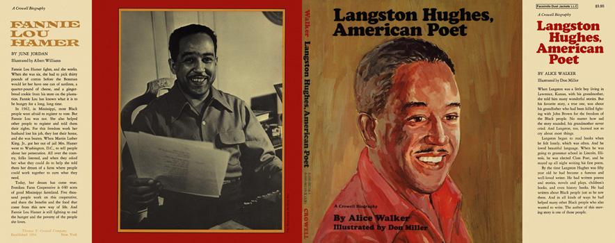Langston Hughes, American Poet. Alice Walker, Don Miller