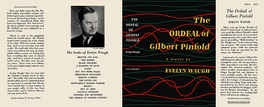 Ordeal of Gilbert Pinfold, The. Evelyn Waugh.