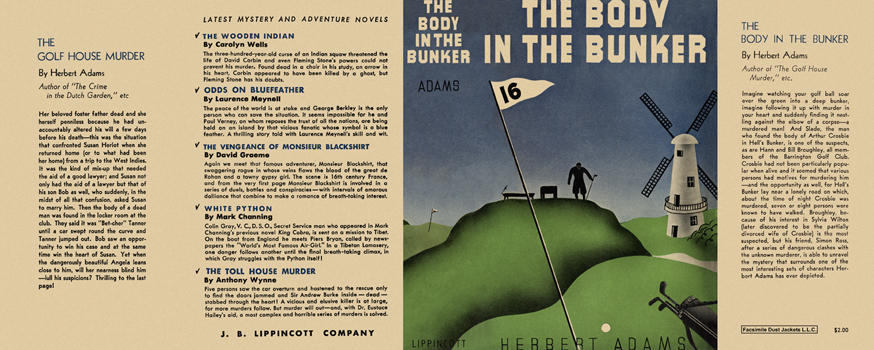Body in the Bunker, The. Herbert Adams