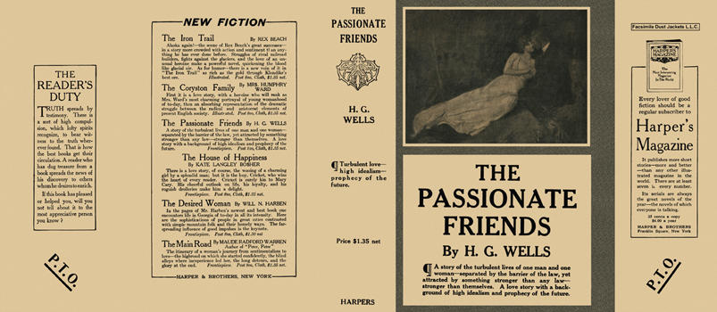 Passionate Friends, The. H. G. Wells