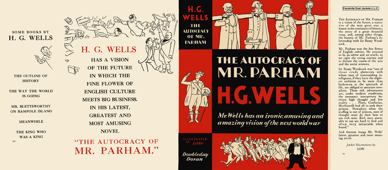 Autocracy of Mr. Parham, The. H. G. Wells