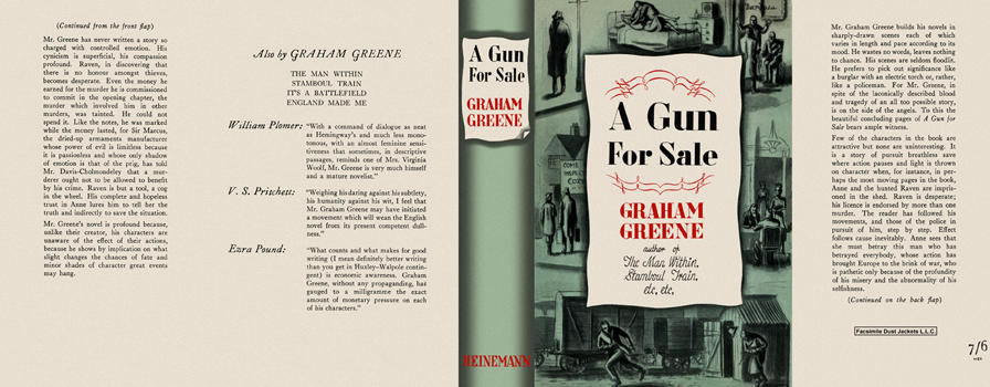 Gun for Sale, A. Graham Greene.