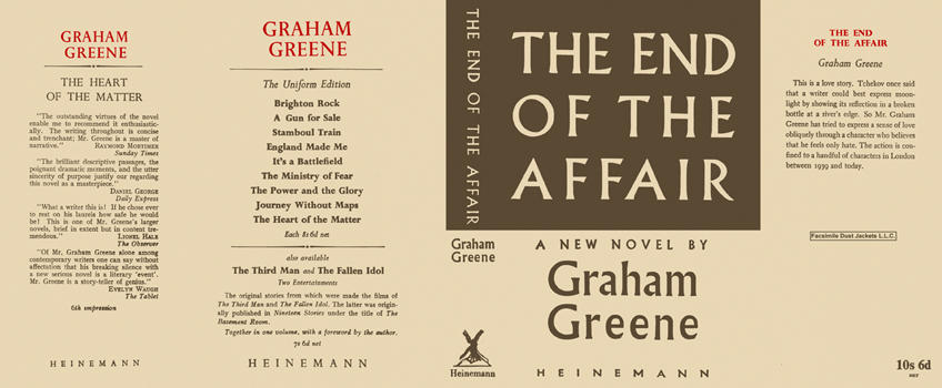 End of the Affair, The. Graham Greene