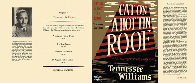 Cat on a Hot Tin Roof. Tennessee Williams