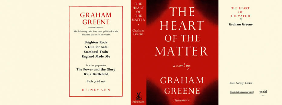 Heart of the Matter, The. Graham Greene.