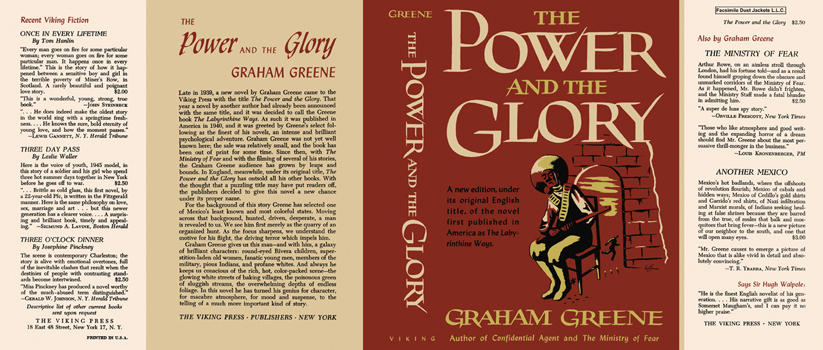 a critique of graham greenes the power and the glory The vatican correspondence on greene's heart of the matter, greene's reply plus graham greene background and the best web-links close the church's criticisms of greene the power and the glory was published in 1940.