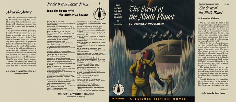 Secret of the Ninth Planet, The. Donald A. Wollheim.