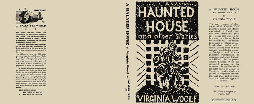 Haunted House and Other Stories, A. Virginia Woolf.