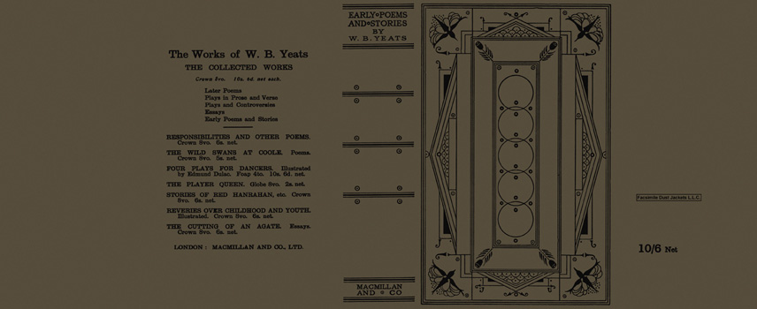 Early Poems and Stories by W.B. Yeats. W. B. Yeats.