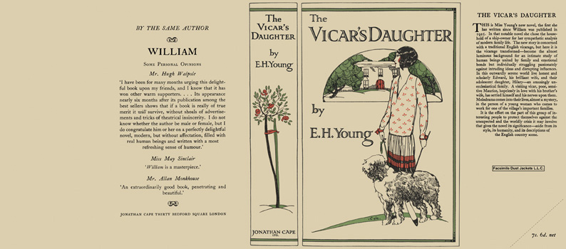 Vicar's Daughter, The. E. H. Young.