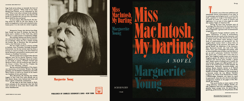 Miss MacIntosh, My Darling. Marguerite Young.