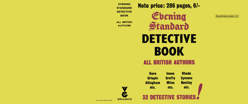 Evening Standard Detective Book. Anthology