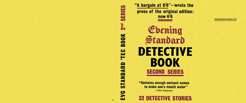 Evening Standard Detective Book - Second Series. Anthology