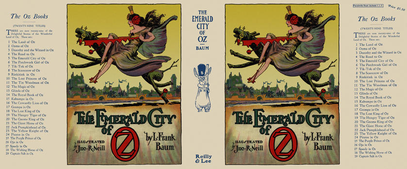 Emerald City of Oz, The. L. Frank Baum, John R. Neill