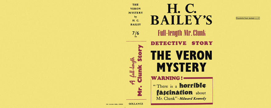 Veron Mystery, The. H. C. Bailey.