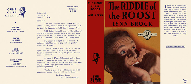 Riddle of the Roost, The. Lynn Brock.