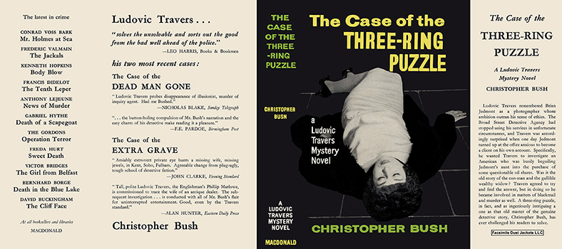 Case of the Three-Ring Puzzle. Christopher Bush.