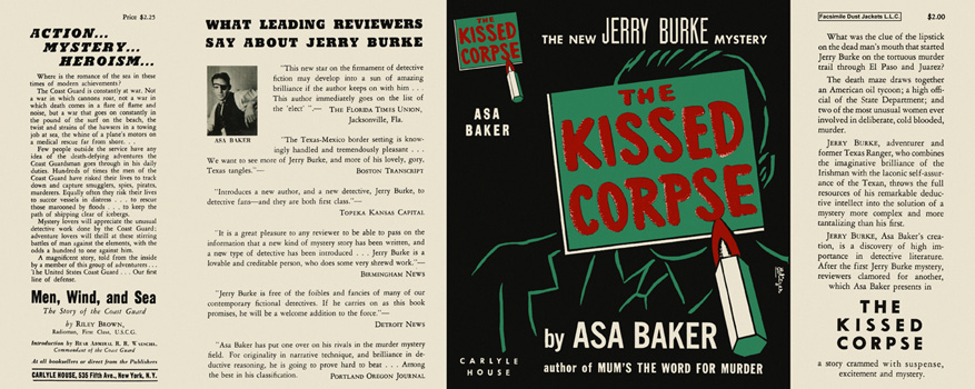 Kissed Corpse, The. Asa Baker.