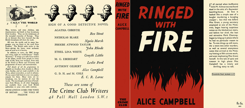 Ringed with Fire. Alice Campbell.