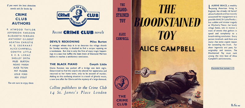 Bloodstained Toy, The. Alice Campbell