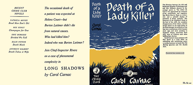 Death of a Lady Killer. Carol Carnac.
