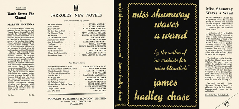 Miss Shumway Waves a Wand. James Hadley Chase