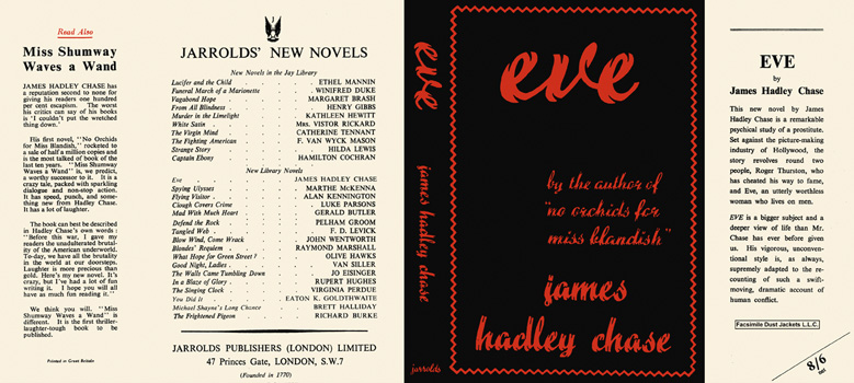 Eve. James Hadley Chase.