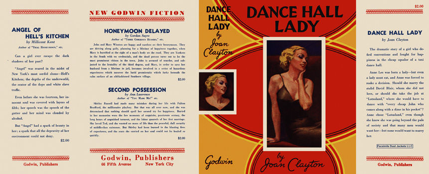 Dance Hall Lady. Joan Clayton.