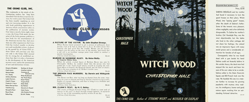 Witch Wood. Christopher Hale.