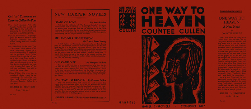 One Way to Heaven. Countee Cullen