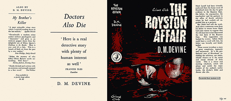 Royston Affair,The. D. M. Devine.
