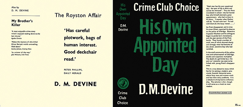 His Own Appointed Day. D. M. Devine.