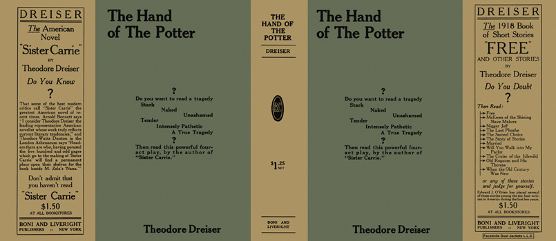Hand of the Potter, The. Theodore Dreiser